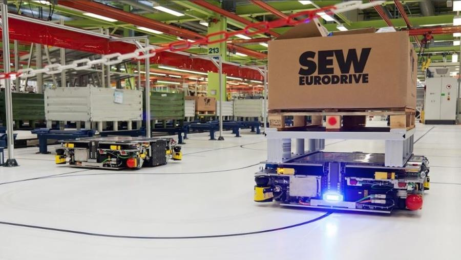 agv, automated guided vehicle